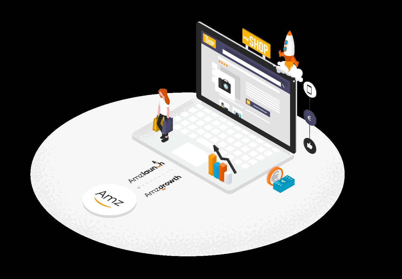 Nous vous accompagnons également dans la création et le développement de votre site e-commerce adapté aux besoins spécifiques de votre activité